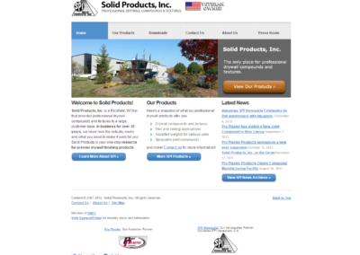 Solid Products, Inc